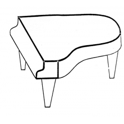 Trzonki fortepianowe, Bluthner Patent.
